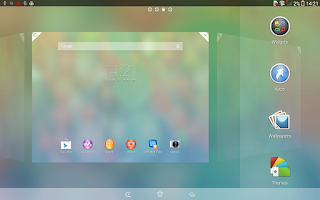 Screenshot of Xperia™ theme - Clean Foggy