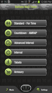 Ballistic CrossFit Timer Fitness app screenshot 1 for Android