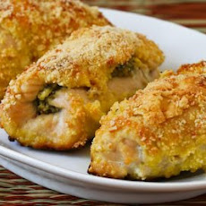 Baked Chicken Breasts Stuffed with Sage-Pecan Pesto and Feta