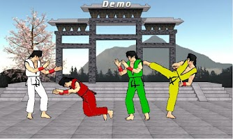 Screenshot of Final Karate