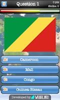 Screenshot of Geography Quiz Game