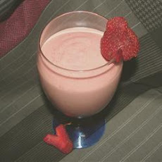 Strawberry-Banana-Peanut Butter Smoothie