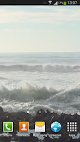Screenshot of Big Ocean Waves Live Wallpaper