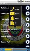 Screenshot of Fenerbahçe Zil Sesleri