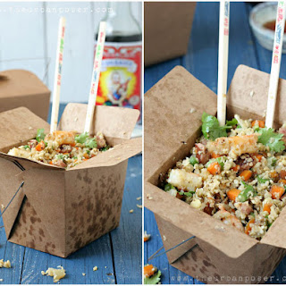 Vietnamese Cauli-Fried Rice W/Nước Chấm Sauce (Grain/Rice Free)