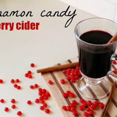 Cinnamon Candy Cherry Cider