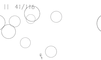 Screenshot of Stickman vs. Balls