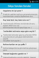 Screenshot of Kelime Testi