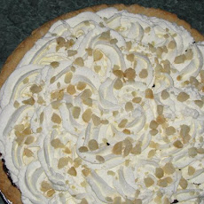 White Chocolate Macadamia Nut Pie