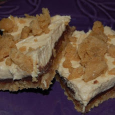 Chocolate-Cream Cheese-Peanut Butter Bars (Cookie Mix)