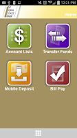 Screenshot of FISB Mobile Banking