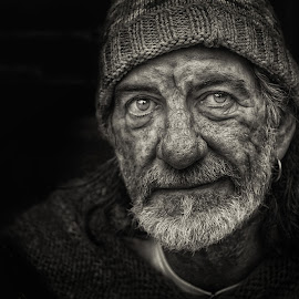 Homeless by Glynn Lavender - People Portraits of Men ( portraiture, street, portraits, portrait, street photography )