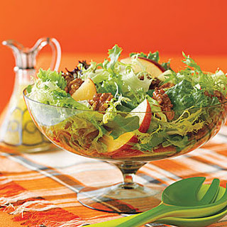 Mixed Green Salad With Apples And Walnuts Recipes