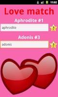 Screenshot of Love Match