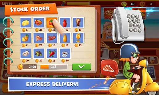 Papa Pizza Shop - screenshot
