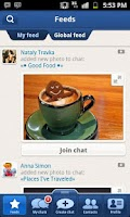 Screenshot of TalkOver Messenger