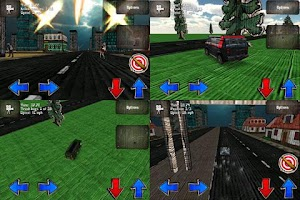 Screenshot of Cars And Guns 3D FREE
