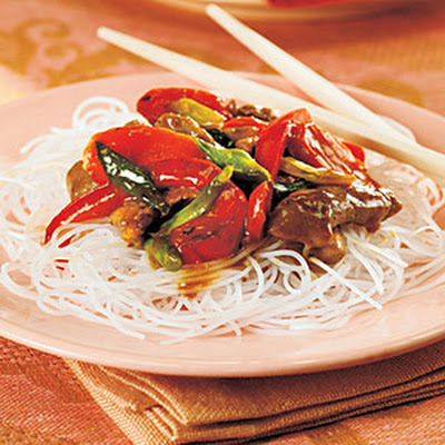 Pork Stir-Fry with Orange Sauce