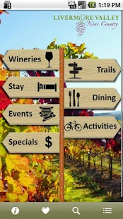 Livermore Valley Wineries - screenshot