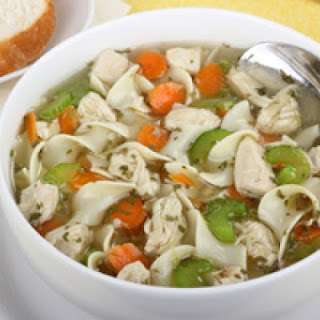 Shredder Chicken Noodle Soup