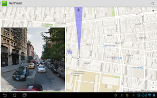Screenshot of Instago Street View Navigation