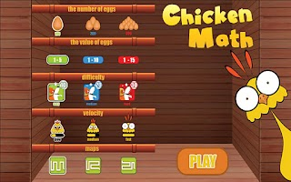 Screenshot of Chicken Math