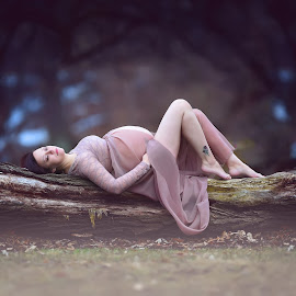 Sweet-dreams... by Skaiste Sky - People Maternity ( maternity, pregnant, pregnancyphotography, maternityphotography )