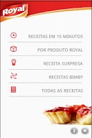 Screenshot of Receitas Royal