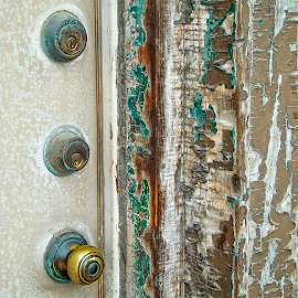 decayed door by Lennie L. - Artistic Objects Other Objects (  )