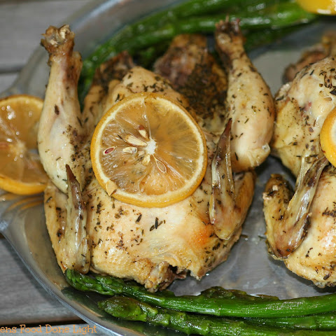 Slow Cooker Greek Cornish Hens