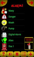 Screenshot of Funny Ringtones Alarms