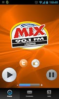 Screenshot of MIX FM Londrina