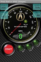 Screenshot of Acura Speedo Dynomaster Layout