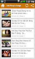 Screenshot of Khmer Star Sok Pisey