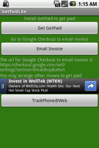 【免費財經App】GetPaidLite-APP點子