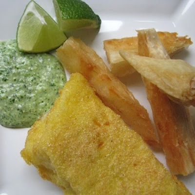 Sunday Brunch: Fried Fish and Yucca