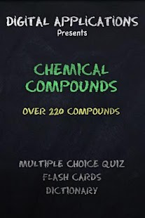 220+ CHEMICAL COMPOUNDS Quiz - screenshot