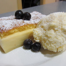 Self-layering Custard Cake