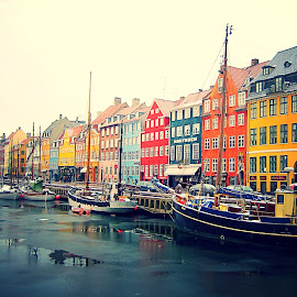 Nyhavn, Copenhagen by Žaklina Šupica - City,  Street & Park  Historic Districts