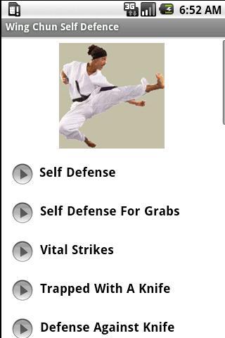 Wing Chun Kung Fu Self Defence