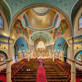 St. Nicholas Ukrainian Catholic Cathedral by John Williams - Buildings & Architecture Places of Worship ( open house chicago, ukrainian village, interior architecture, cathedral, catholic church, places of worship )