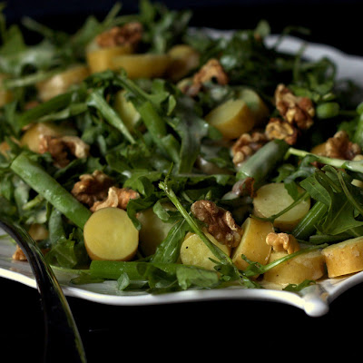 Arugula, Potato And Green Bean Salad