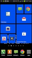 Screenshot of WP8 Widget Launcher Windows 8