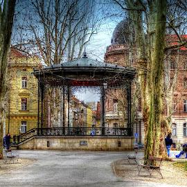 Pavilion  by Tihomir Beller - City,  Street & Park  City Parks