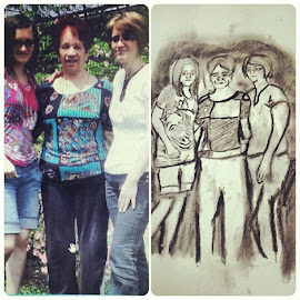 :) by Belma Pelto - Drawing All Drawing ( doodle, family, art, mine, drawing )