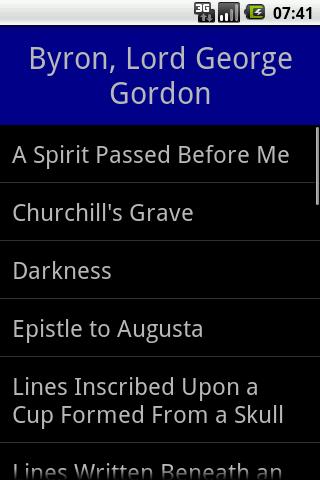 George Gordon Byron Collection