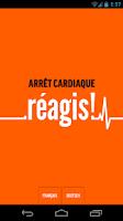 Screenshot of réagis!