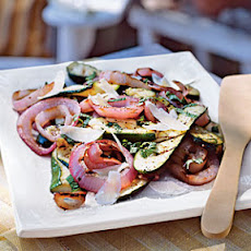 Italian Grilled Zucchini and Red Onion