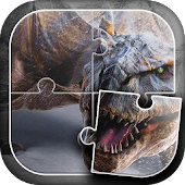 APK Game Dinosaurs Jigsaw Puzzle for BB, BlackBerry
