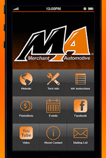 Merchant Automotive - screenshot